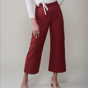 NWT ✨ WOMN Carmen Pant (Brand New) Sierra Red